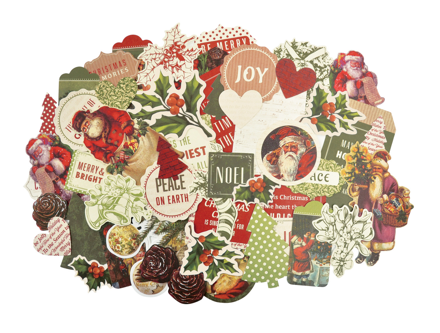 Patterned Paper Craft Christmas