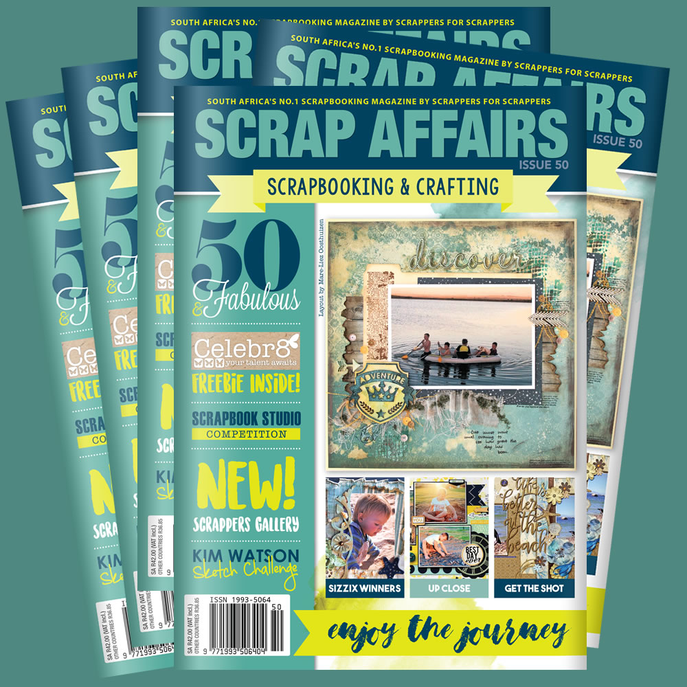 Scrap Affairs Issue 50!