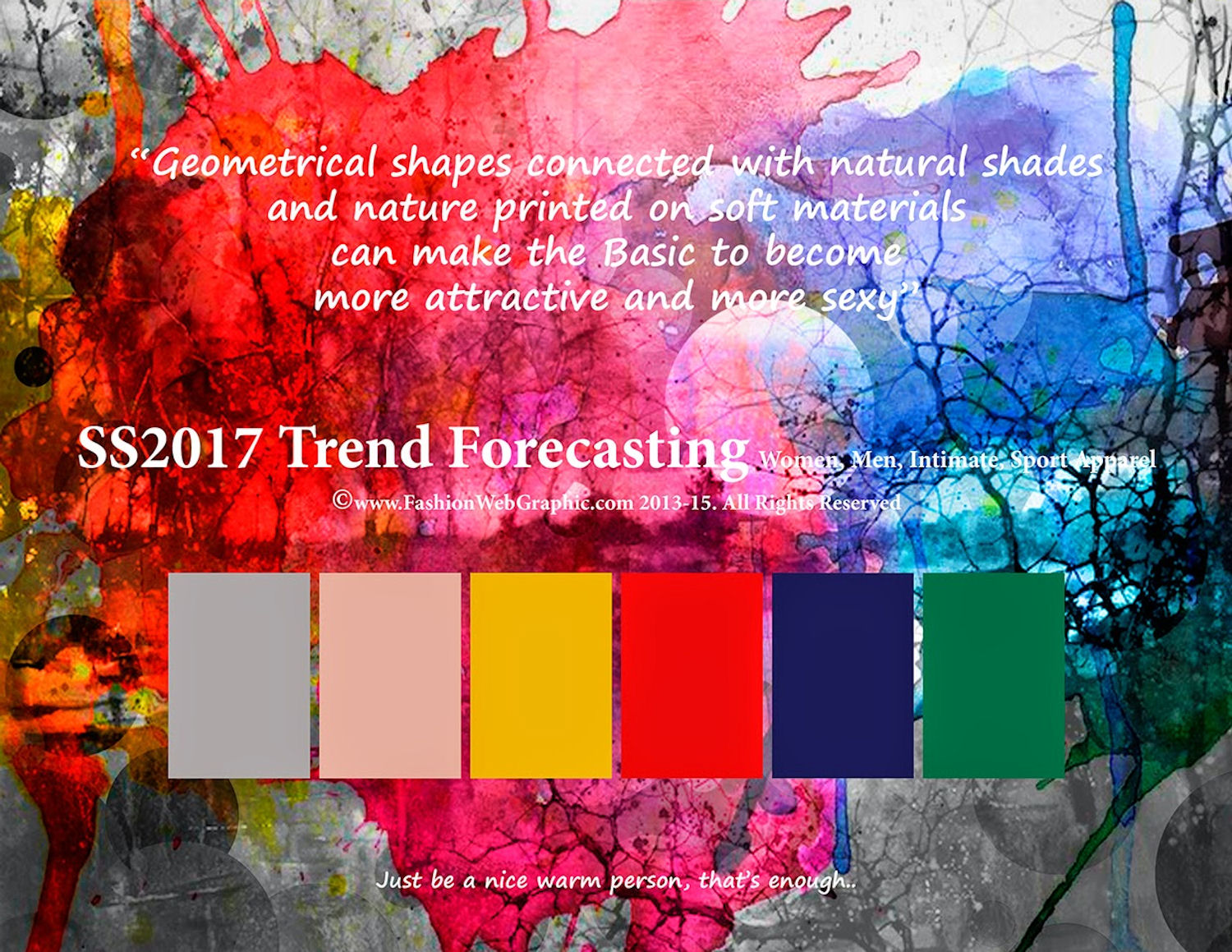 2017 Trends - Colours