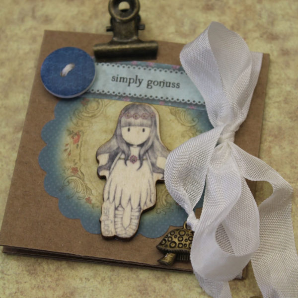 Cariena Creates - Gorjuss Mini Book