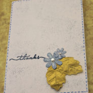 Xcut Speckled Card