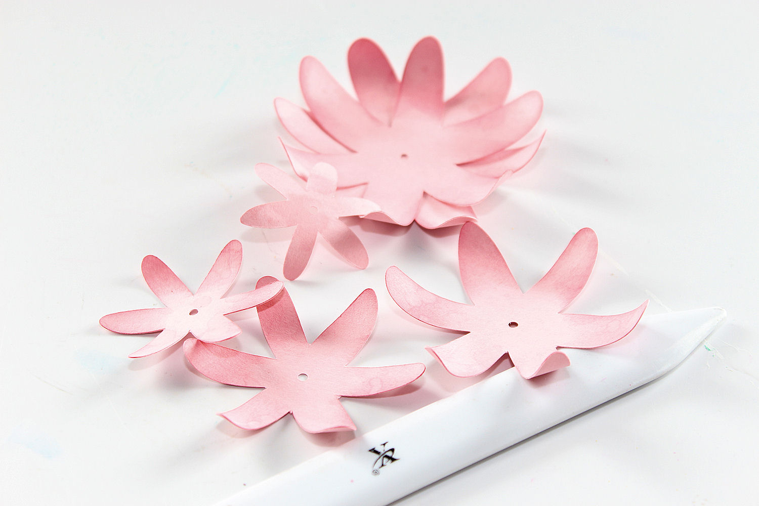 Making 3D flowers - Step 1
