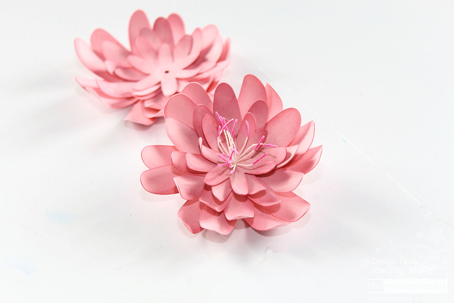 Making 3D flowers - Step 2
