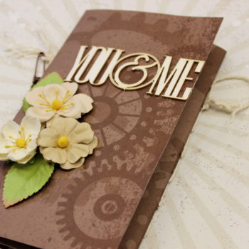 Lady Pattern Paper Chocolate Chilli Mini Album 2017