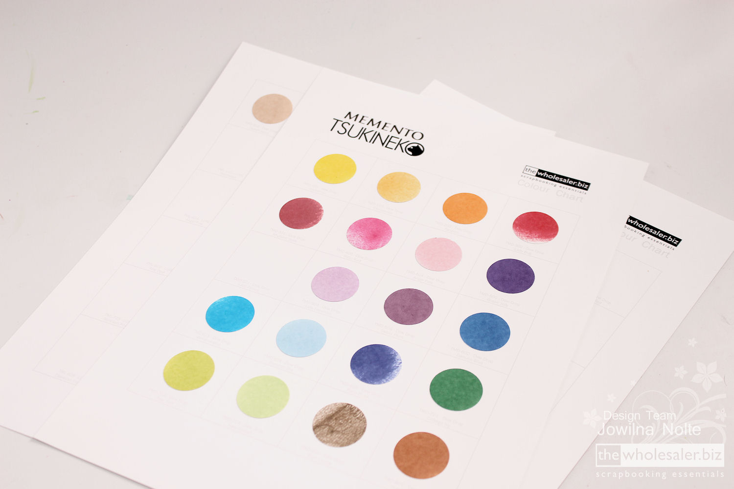 Tsukineko ink colour chart jowilnas favourite things tsukineko ink colour chart jowilnas favourite things nvjuhfo Image collections