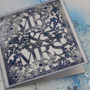 Xcut Mr & Mrs Card – Cariena Creates