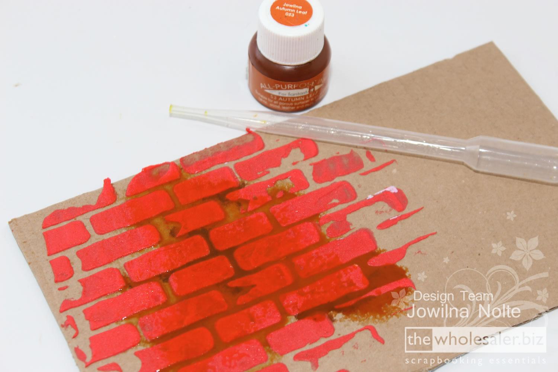 Brick Stencil - Jowilna 101 - Step 4