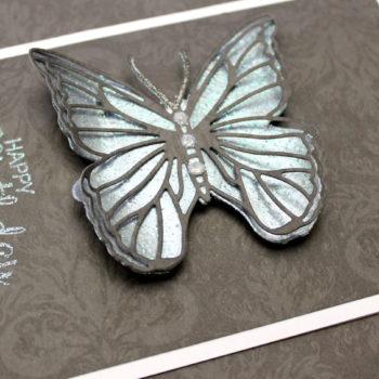 Heat Embossed Butterfly