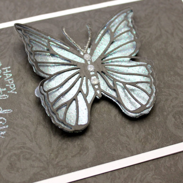 Heat Embossed Butterfly