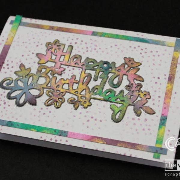 Rainbow Card - Cariena Creates
