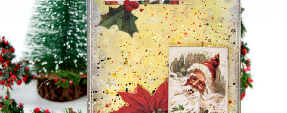 Embossing Paste Christmas Card &#82...