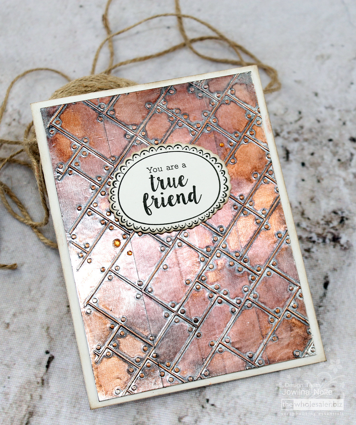 Kaisercraft Metal Plate Embossing Folder – Jowilna's Favourite Things