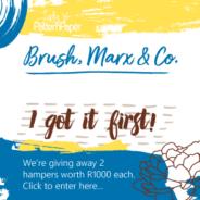 I got it first! Win a R1000 Lady Pattern Paper hamper…