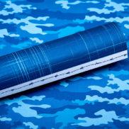LPPT0012 - Basically Textured - Macho Camo - Dazzling Blue