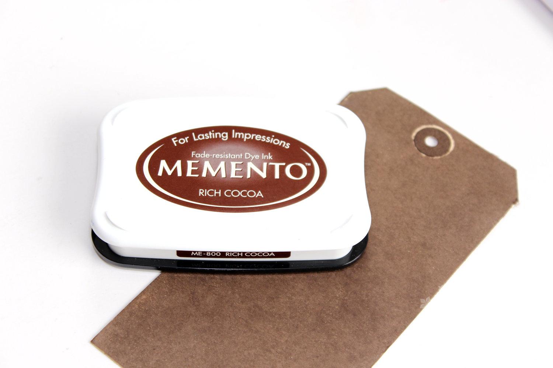 Memento Rich Cocoa - Step 1