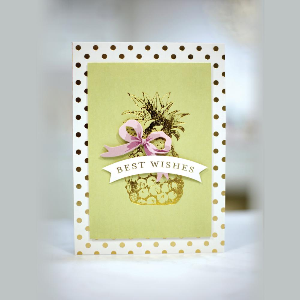 GoPress and Foil is back in stock! Plus Anna Griffin Hotfoil Stamps and Limited GoPress Foil