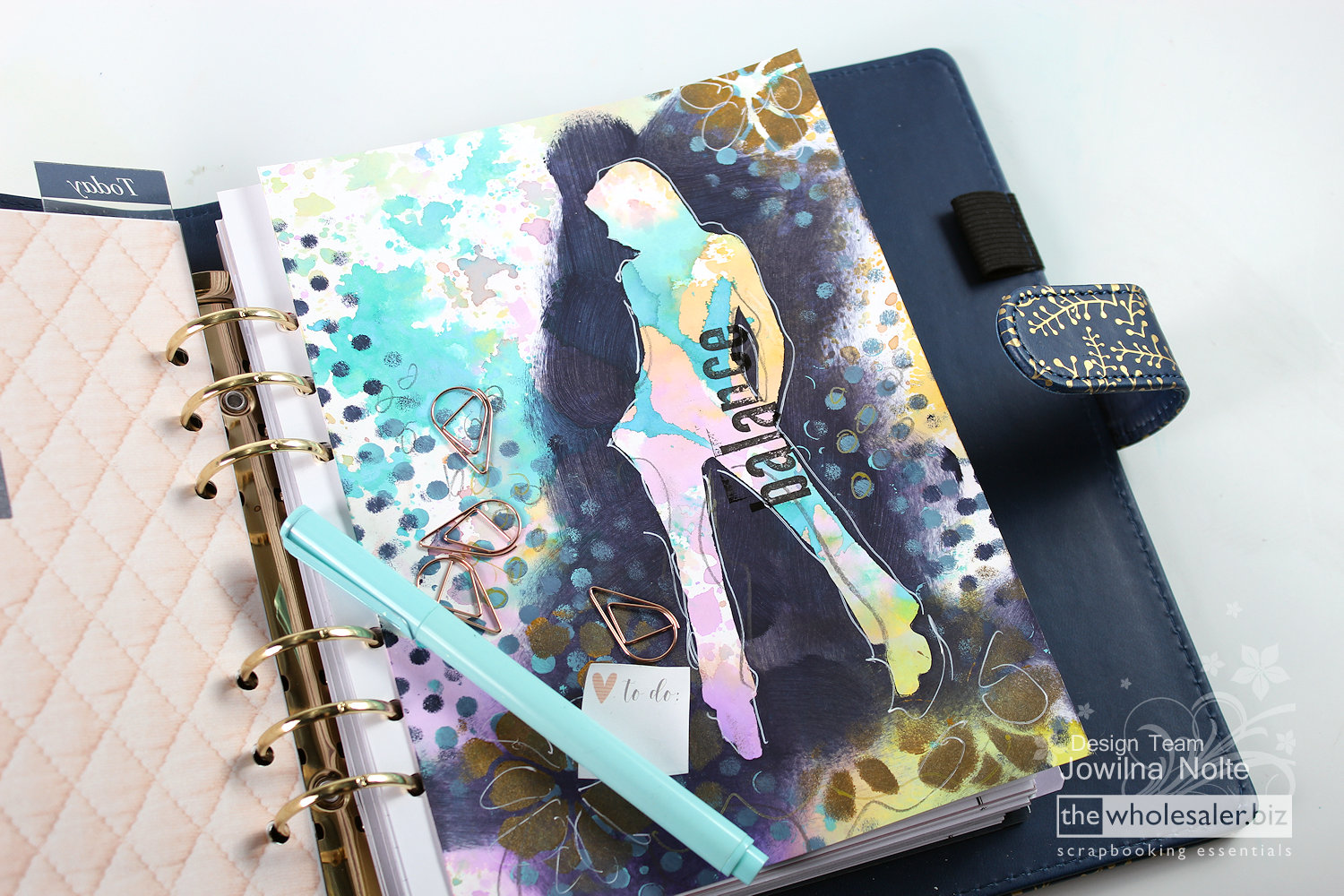 Create your own Planner Dividers – Jowilna's Advanced Class