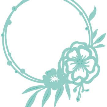 Kaisercraft Memory Lane - Dies KCDD816 Floral Circle Frame