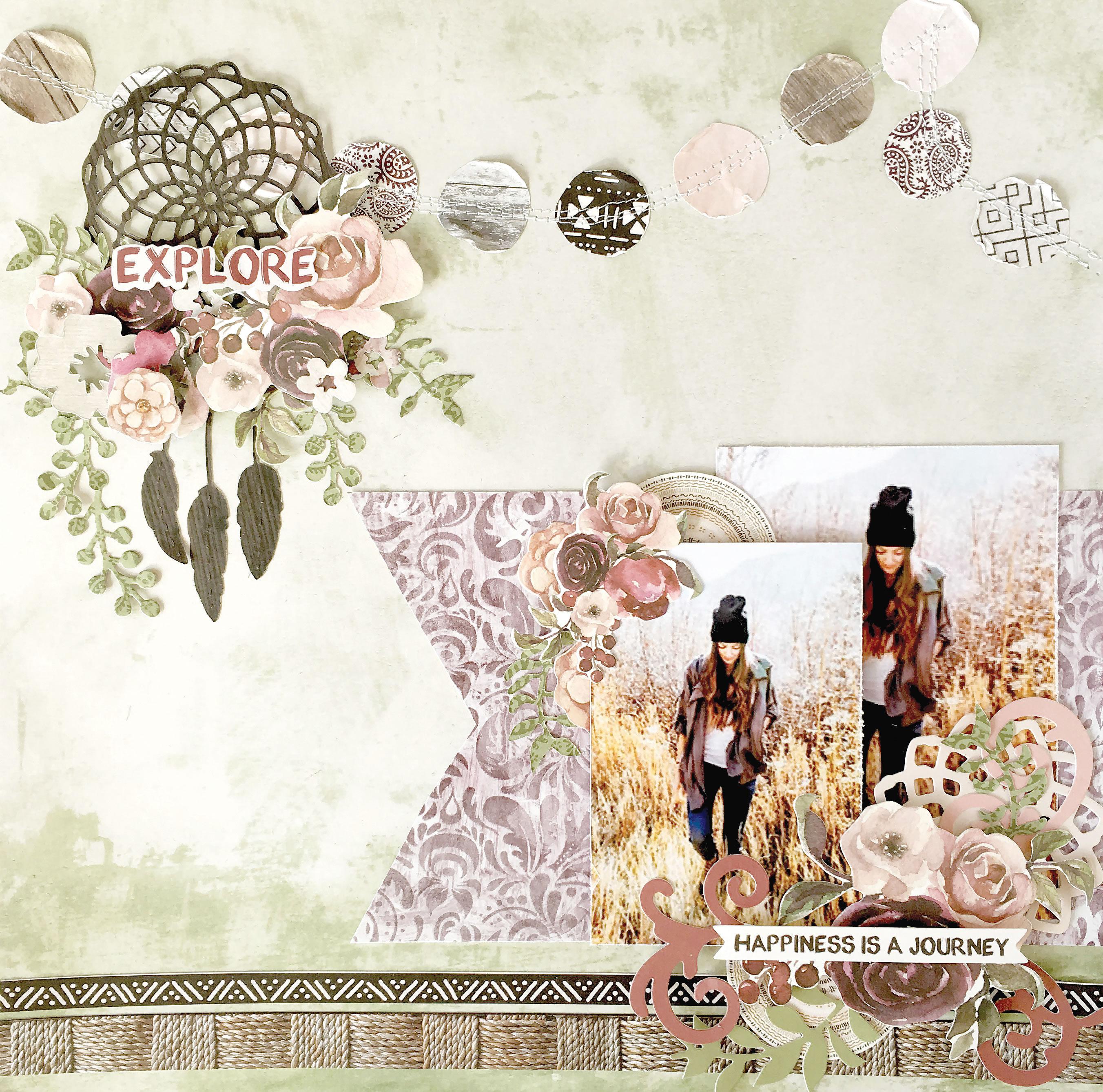 Kaisercraft Gypsy Rose and Hide & Seek