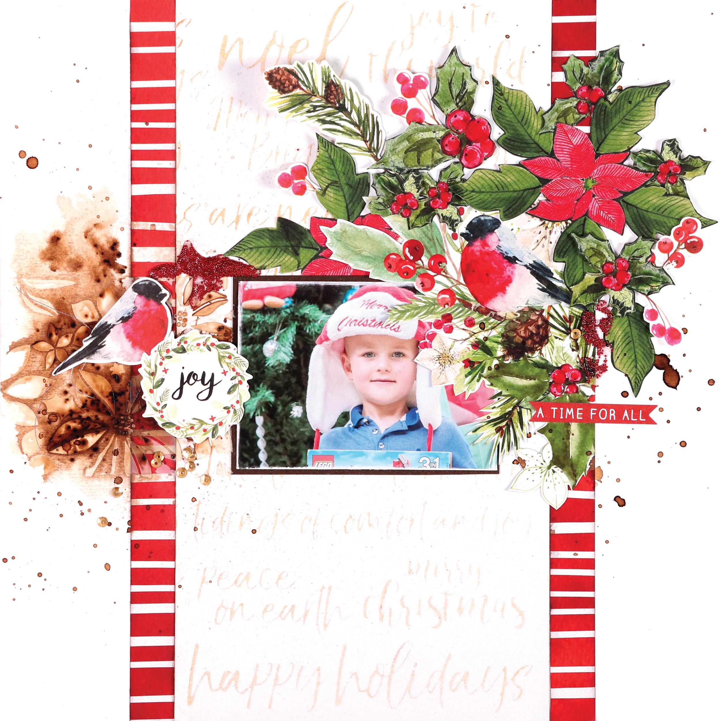 Kaisercraft Peace and Joy, Wonderland & Christmas Stamps
