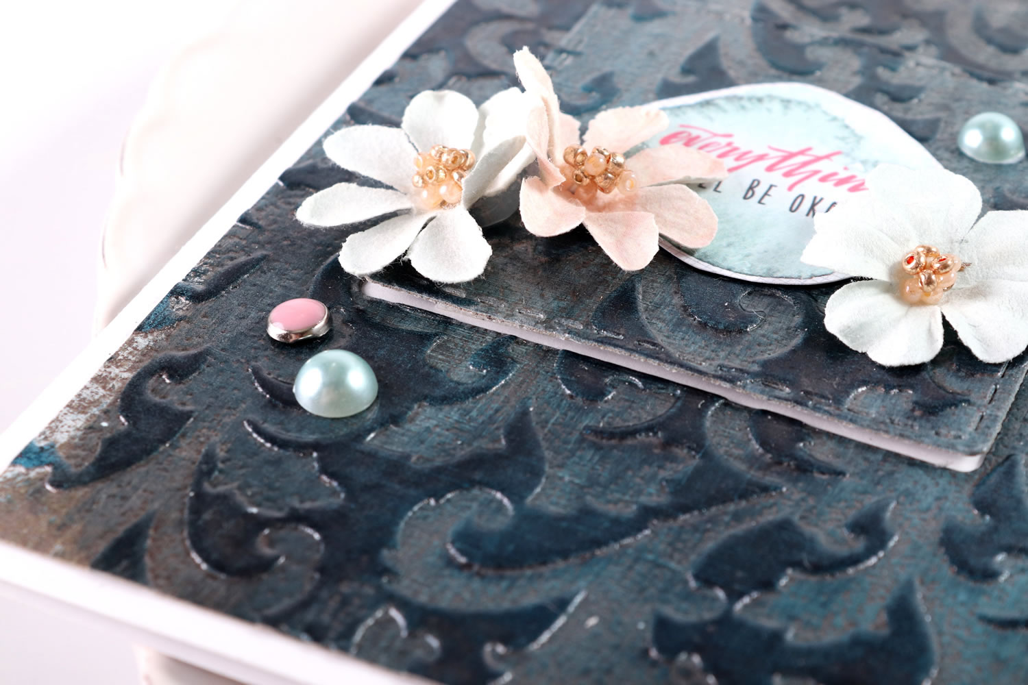 Create your own faux linen effect – Jowilna's Advanced Class