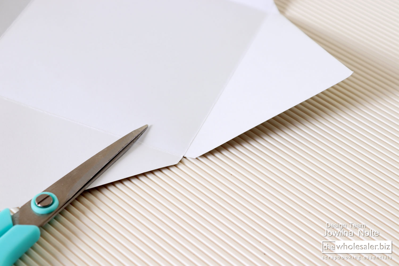"Couture Creations 12 x 12/"" Scoring Score Board bone folder /& guide Envelope"