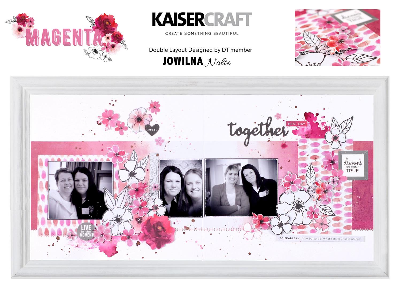 Kaisercraft Magenta - 01