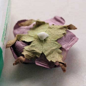 Tombow Mono Multi Glue Glued Flower