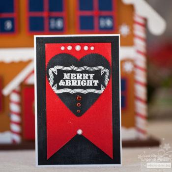 AC Cardstock Christmas Card