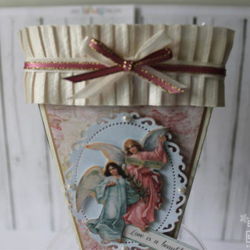 Key to My Heart Gift Cone Angels