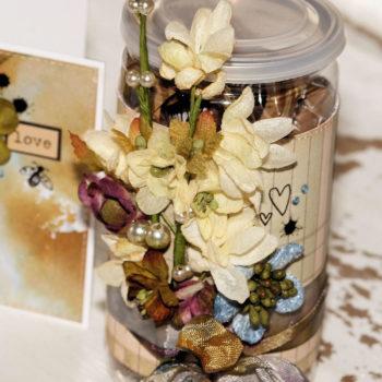 Petaloo Botanica Flowers Thank You Sweetie Jar