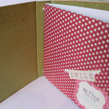 Kaisercraft Telegraph Road Mini Album Smile
