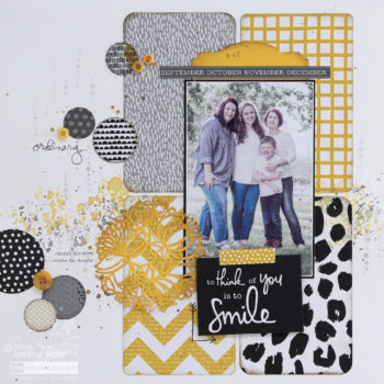 Corner Punches for Scrapbooking - Smile Layout