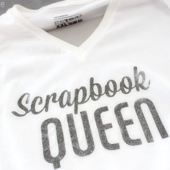 Silhouette Heat Transfer - Scrapbook Queen
