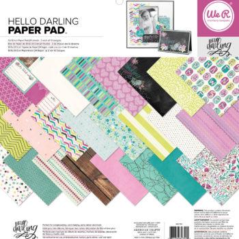 We R Memory Keepers - Paper Pad AC662740 - Hello Darling
