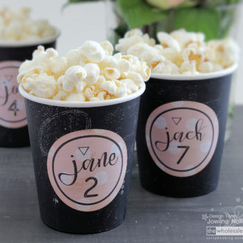 DIY Wedding Part Three - Pop Corn