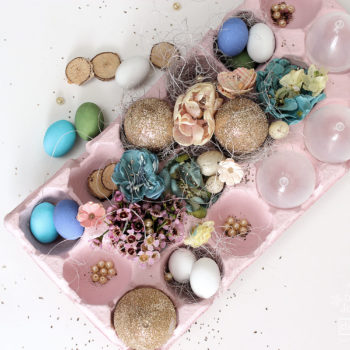 Easter Table Centre Piece - DIY Décor