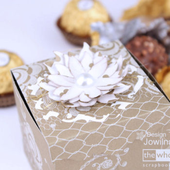 Egyptian Gold Lucy Lace - Sweetheart Flower