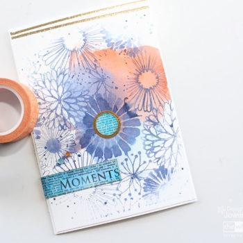 Jowilna's Advanced Class - Pantone Inspiration Card