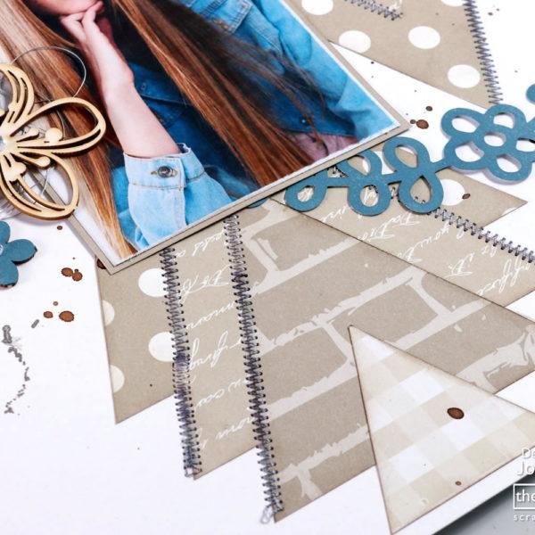 Lady Pattern Paper - So Buff - Betty Brick