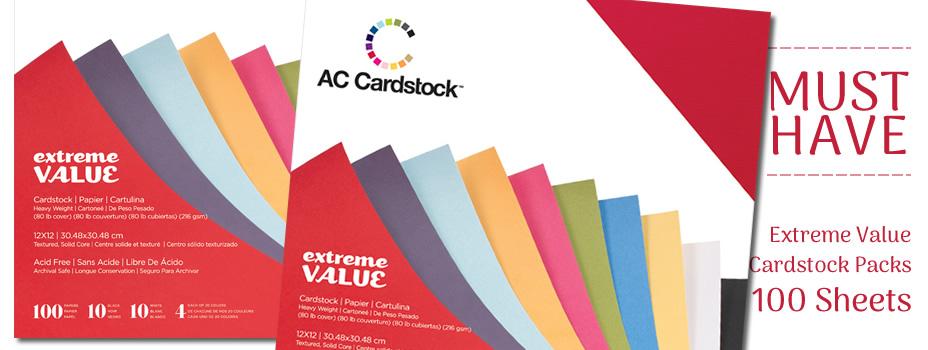 AC Cardstock Packs